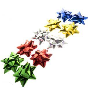 "4"" Star Bows x10"