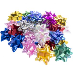 Assorted Star Bows x36