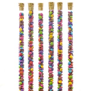 Novelty Sweet Tubes With Cork Lids x25