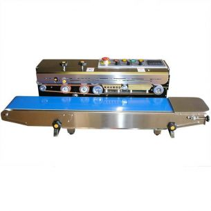Tabletop Automatic Continuous Bag Heat Sealing Machine