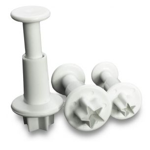 TC2011	Star Fondant Plunger Set 3 Pieces