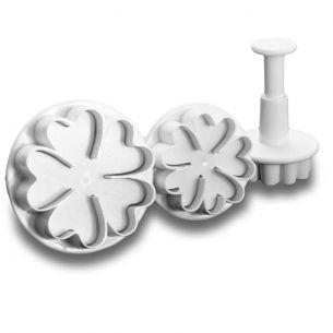 TC2095	Heart Flowers Fondant Cutter Plunger Set