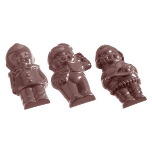 Chocolate Mould Figures Front 5 Fig. cw1071