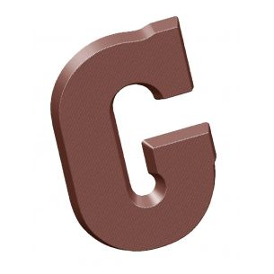 Chocolate Mould Letter G 200 gr