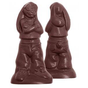Chocolate Mould Rapper Rabbit