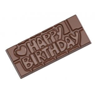 CHOCOLATE SHAPED TABLET HAPPY BIRTHDAY