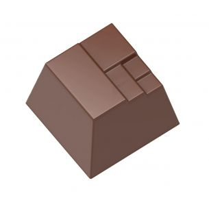 Chocolate Mould Modern Square