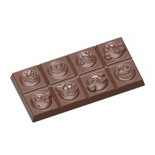 Chocolate Shaped Tablet Smiley