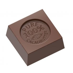 """Chocolate Mould Cube """"100% Cocoa Butter"""""""