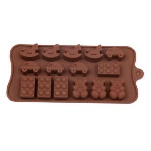 Childrens Toys Silicone Chocolate Mould