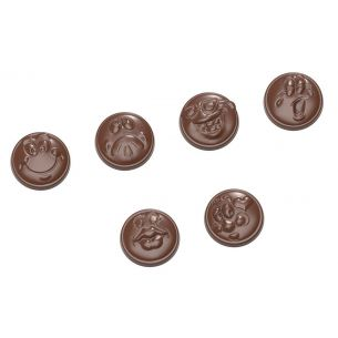 Chocolate Mould Smileys 6 Fig.