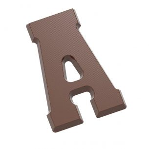 Chocolate Mould Letter A 200 gr