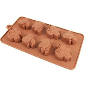 wasp, frog, butterfly, silicone mould
