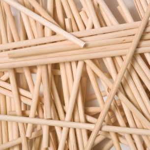 wooden lollipop sticks
