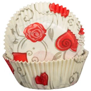 Love Roses Cupcake Cases x60