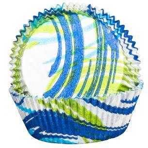 Andorra Blue Cupcake Cases x60